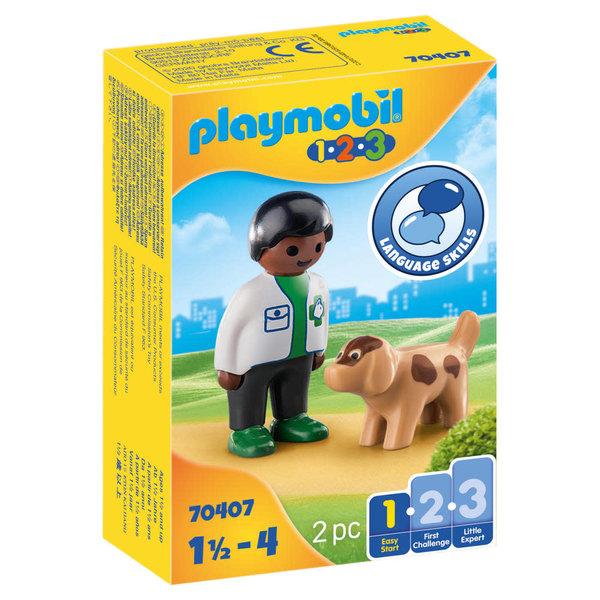 Playmobil 70407 - Dierenarts met hond