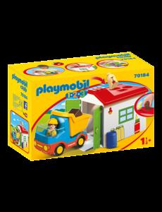 Playmobil 70184 - Werkman met sorteergarage