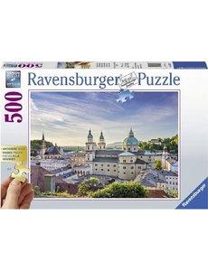 Ravensburger Salzburg  Oostenrijk  500 stukjes XXL