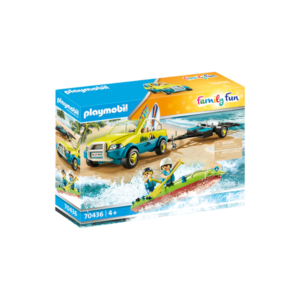 Playmobil 70436 - Strandwagen met Kano's