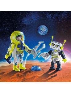 Playmobil 9492 - Duo Astronaut en robot