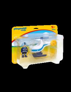 Playmobil 9383 - Politiehelikopter