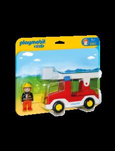 Playmobil 6967 - Brandweerwagen met ladder