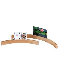 Kaarthouder hout, 50 cm