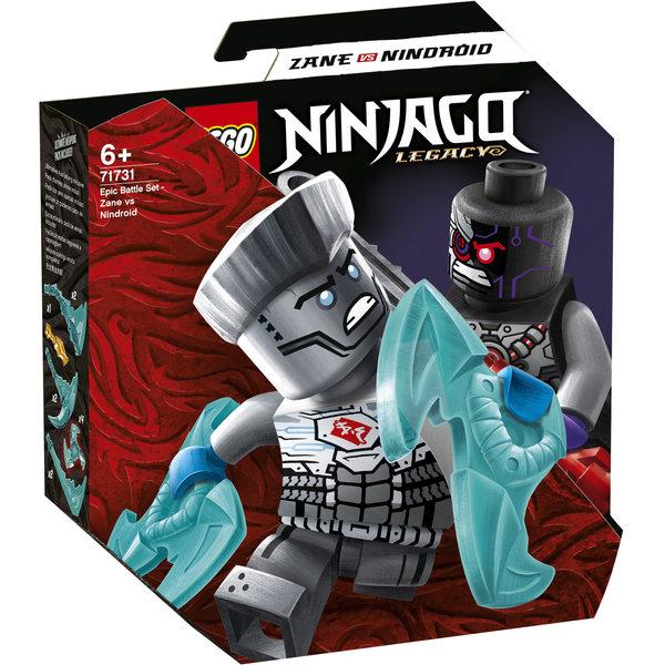 LEGO 71731 - Epische Strijd set - Zane tegen Nindroid