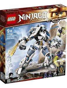 LEGO 71738 - Zane's Titanium Mecha Duel