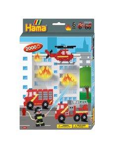 Hama Strijkkralen brandweer, 2000 dlg.