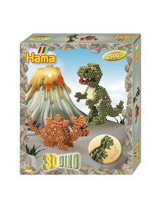 Hama Strijkkralen Gift box 3D Dino