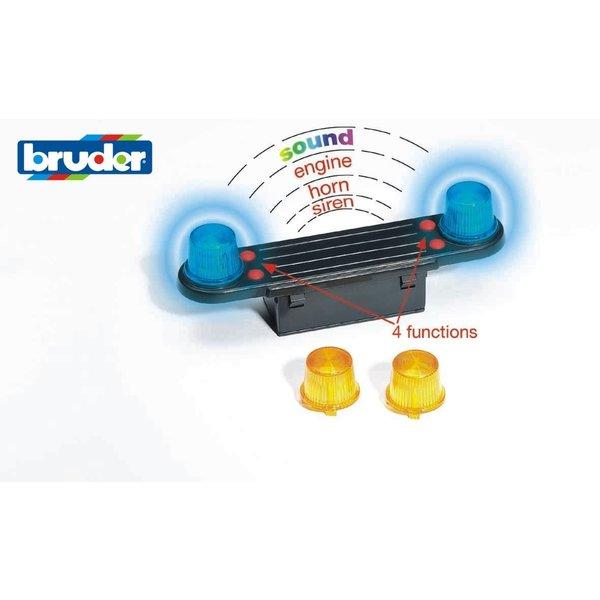 Bruder 2801 - Licht en geluidsmodule trucks