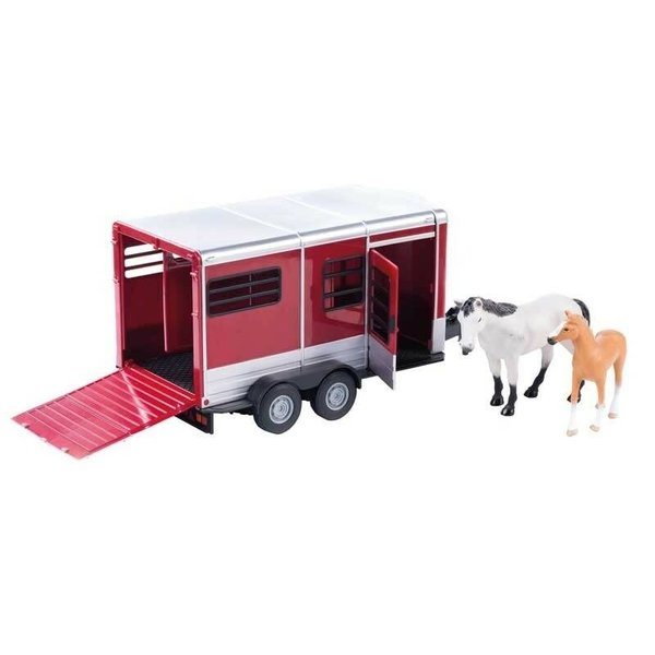 Britains 42846 - Paardentrailer met paard en veulen 1:16