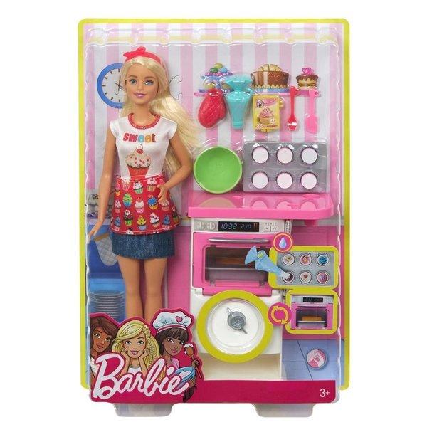 Barbie cupcake bakkerij