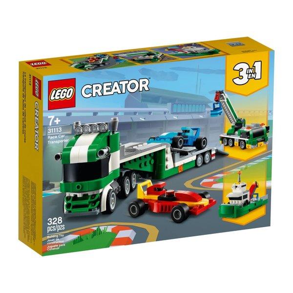 LEGO 31113 - Racewagen transportvoertuig