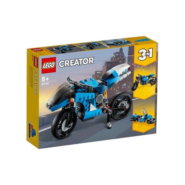 LEGO 31114 - Snelle motor