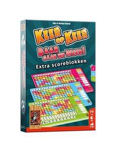 999 Games Keer op Keer scoreblokken Level 5,6,7 3 stuks
