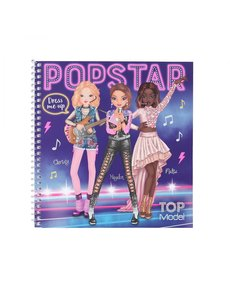 Depesche-TopModel Dress me up stickerboek POPSTAR