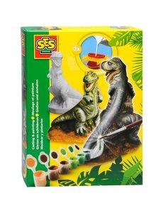 SES Gips gieten - Dino's