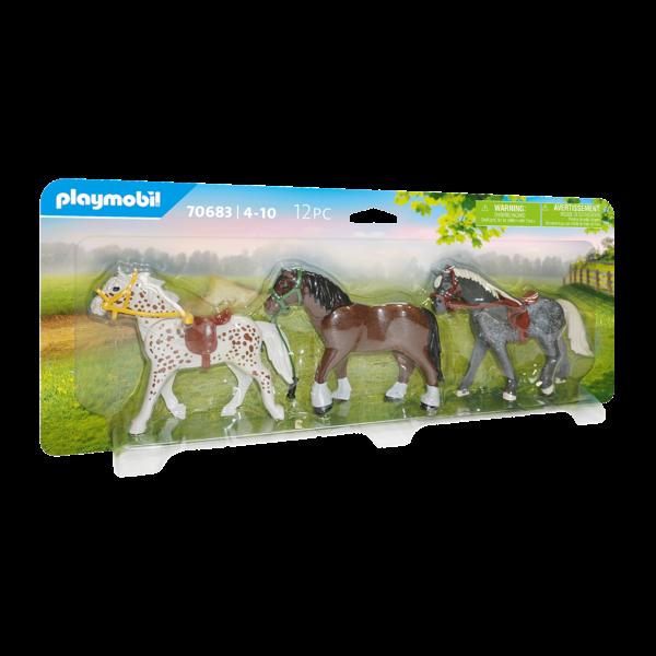 Playmobil 70683 - 3 Paarden