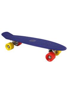 Alert Skateboard - 55 cm - Neon Blauw