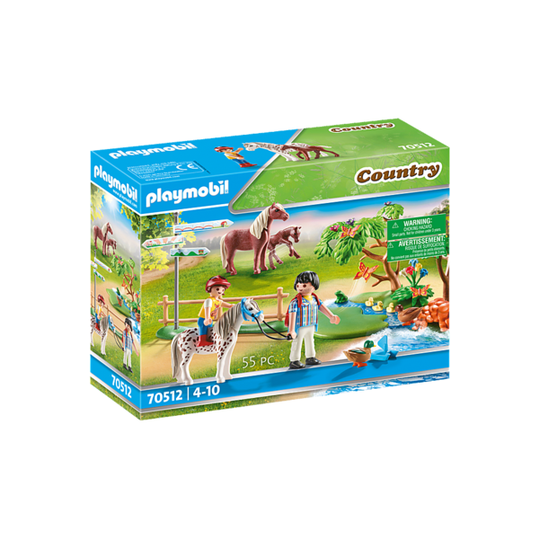 Playmobil 70512 - Gelukkige ponyreis