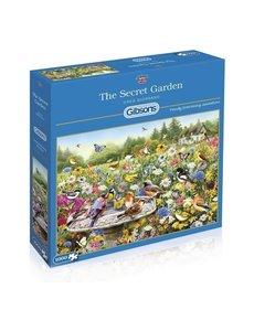 Gibsons The Secret Garden, 1000 stukjes