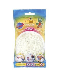 Hama Glow in the Dark, 1000 stuks
