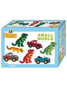 Hama Strijkkralen Dino/auto 2000 st.