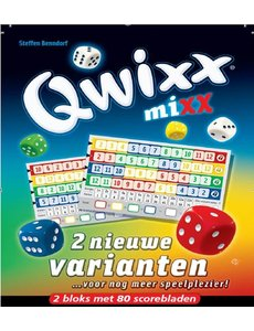 White Goblin Games Qwixx: Mixx scoreblok