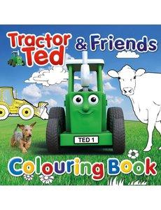 Tractor Ted Kleurboek