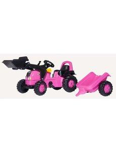 Rolly Toys Rollykid Roze met voorlader