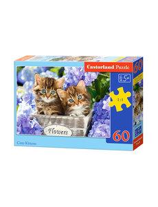 Castorland Cute Kittens, 60 stukjes
