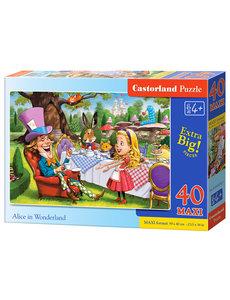 Castorland Alice in Wonderland, 40 Maxi stukjes