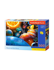 Castorland Planets and their moons, 300 stukjes