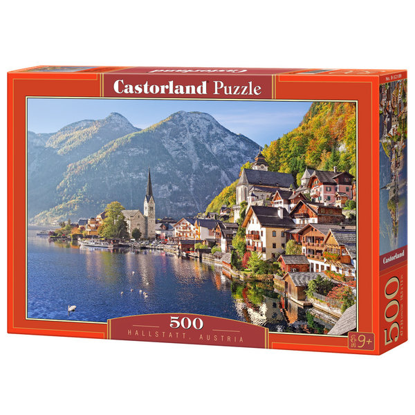 Castorland Hallstatt Oostenrijk, 500 stukjes