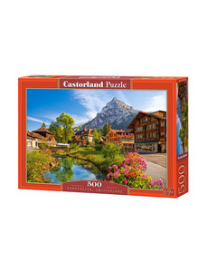 Castorland Kandersteg Zwitserland, 500 stukjes