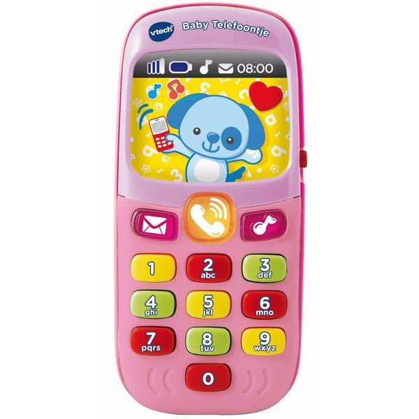 Vtech Baby telefoon - roze - 18+ mnd