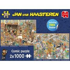 Jumbo Een dagje naar het museum, 2x1000 stukjes