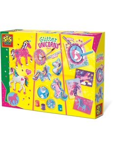 SES Glitter eenhoorn 3 in 1 set