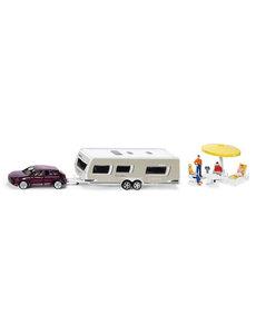 Siku 2542 -  Auto met caravan