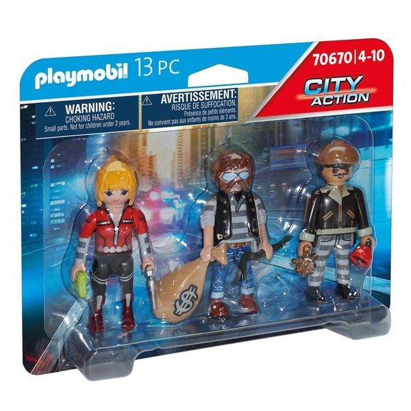 Playmobil 70670 - Boeven