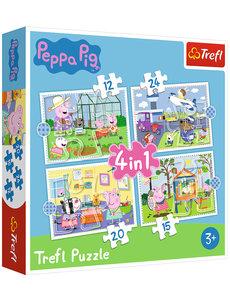 Trefl Puzzel Peppa Pig: 12/15/20/24 st.