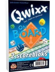White Goblin Games Qwixx: on board scoreblok