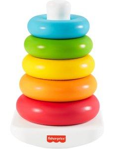 Fisher Price Balanceer piramide met kleurringen eco