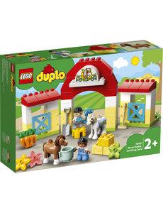 LEGO 10951 - Paardenstal en pony's verzorgen