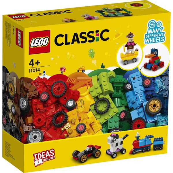 LEGO 11014 - Stenen en wielen