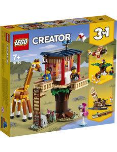 LEGO 31116 - Safari wilde dieren - boomhuis