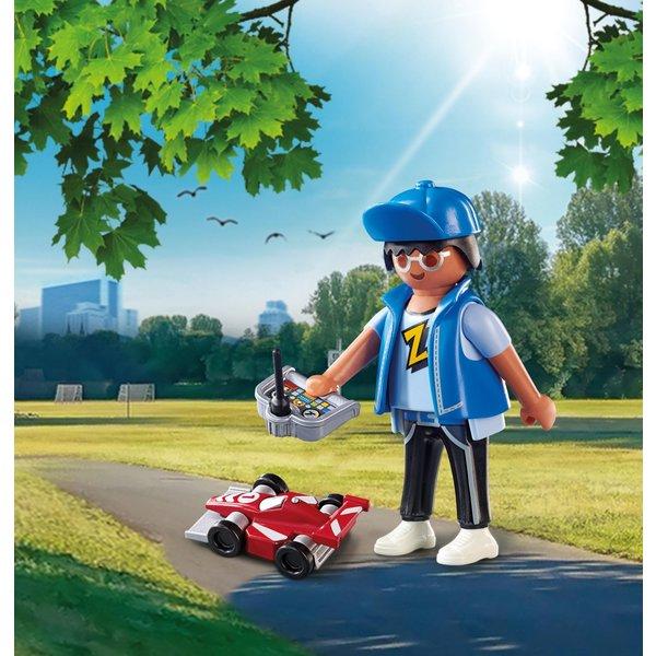 Playmobil 70561 -  Teenie met RC auto