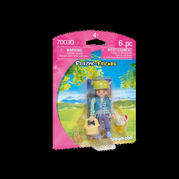 Playmobil 70030 - Boerin met kip