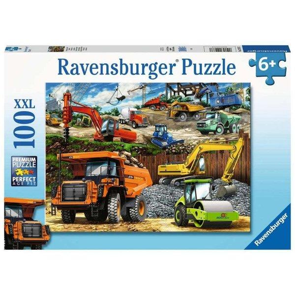 Ravensburger Bouwvoertuigen - 100 st. XXL