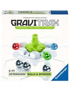 Ravensburger Gravitrax Balls and spinner