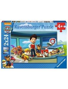 Ravensburger Paw Patrol, hulpvaardige speurneuzen, 2x24 st.